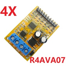 4x 5V/10V 7ch RS485 Analog Voltage Sampler ModBus RTU Board for ADC 0 20ma 4 20ma Sensor