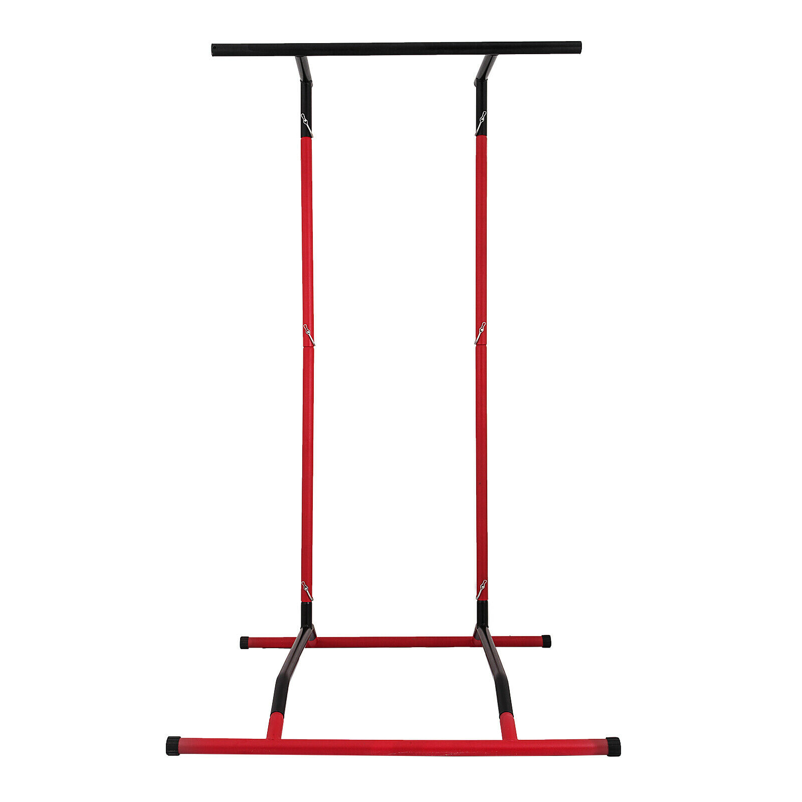 Portable Pull Up Dip Station Gym Bar Power Tower Workout Stand Equipment PRO