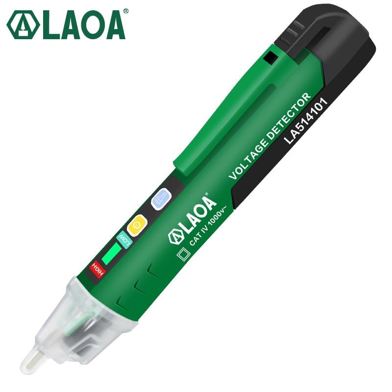 LAOA tension mètre Induction sonde stylo Test chat VIT 1000V multifonction électrique stylo testeur tension détecteur Test avec CE