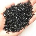 2-4 мм, натуральный черный обсидиан, кварцевый кристалл, мини-камень, камни, энергетические бриллианты, 50 г