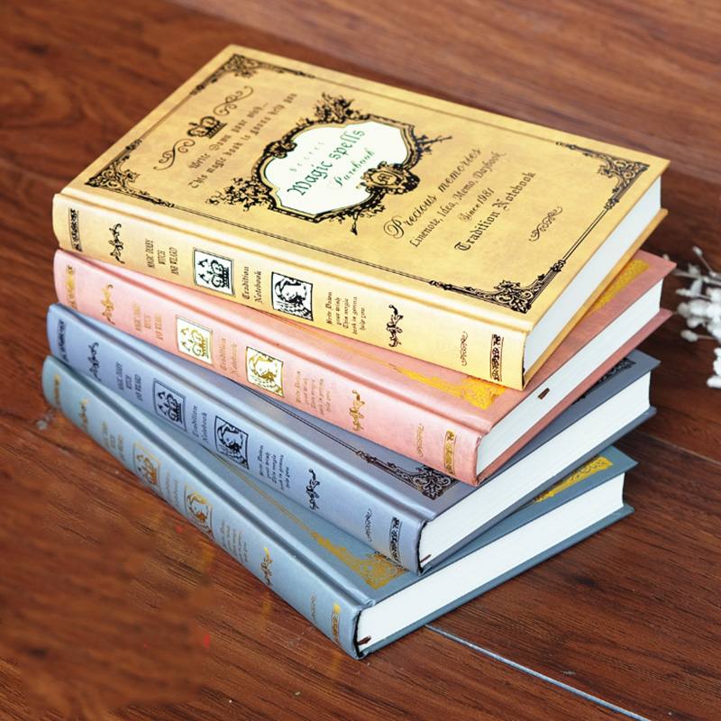 European Thick Retro Magic Book Notebook Stationery Creative A5 Thickened Notebook Diary Book Classical Gift