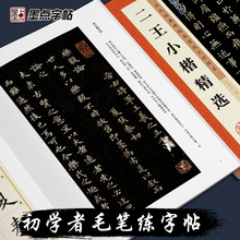 Book Two-Wang's Inscriptions Control Classic-Stone Regular-Script Dynasties From-Past