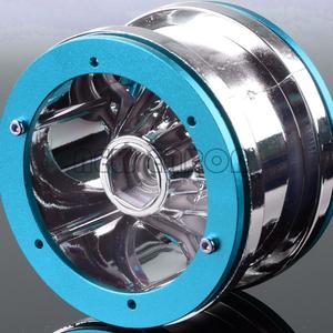 Image 3 - ENRON jantes à billes RC 1:10, 4 pièces, pour voiture à chenilles, pour voiture D90 CC01 HSP Axial SCX10 SCX10 II YETI Traxxas TRX4, 2.2 pouces, nouveauté