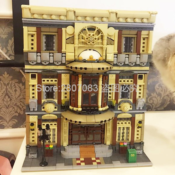 Creative MOC Chinese Building Toys The Maritime Museum Set Children Building Blocks 5052pcs Bricks DIY Toys Model Gift