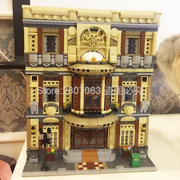 Creative MOC Chinese Building Toys The Maritime Museum Set Children Building Blocks 5052pcs Bricks DIY Toys Model Gift