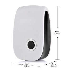 Image 5 - 6 4 sztuk ultradźwiękowy przeciw komarom Killler elektroniczny owad odrzucić odstraszacz szczur mysz karaluch urządzenie odstraszające szkodniki
