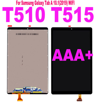 For Samsung Galaxy Tab A 10.1 2019 wifi SM-T510 T515 T517 T510 LCD Display Touch Screen Digitizer Sensor Assembly T510 LCD Parts 6870s 1786 6870s 1787a lcd pcb parts a pair