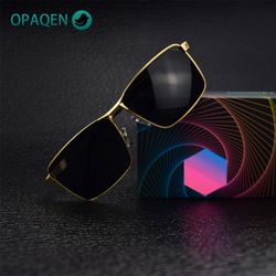 OPAQEN Man's Sunglasses Oversized Polarized TR-90 TAC Lens Shades For Women Glasses Rayban Sun Glasses For Driving Fishing 2020