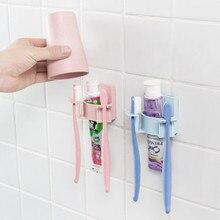 1 шт. держатель для зубной щетки стеллаж для хранения бритва зубная щетка, дозатор для ванной комнаты органайзер Инструменты
