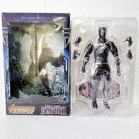30CM 12Inch HC Toys Marvel Avengers 3 Infinity War Black Panther Action Figure Anime Superhero Model Kids Toys Doll