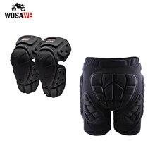 WOSAWE Motorcycle Knee Pads Motocross Knee Protection Protective pants Guard Gear Motorbike Knee Protector MTB Knee pants set