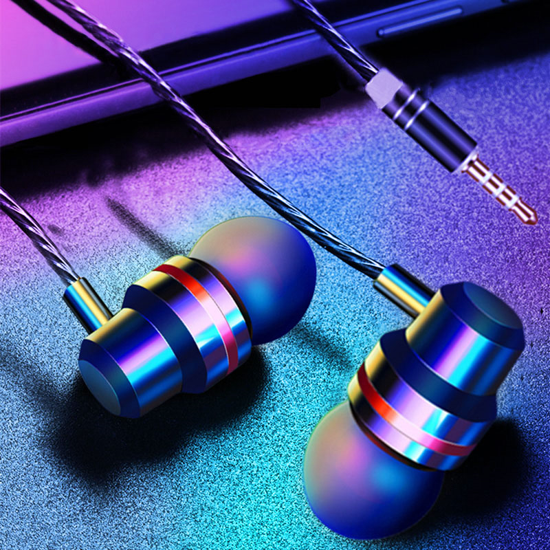 Briame-Wired-Metal-Headphone-Sport-3-5mm-In-Ear-Earphone-Bass-Earbuds-Earpiece-With-Mic-Stereo