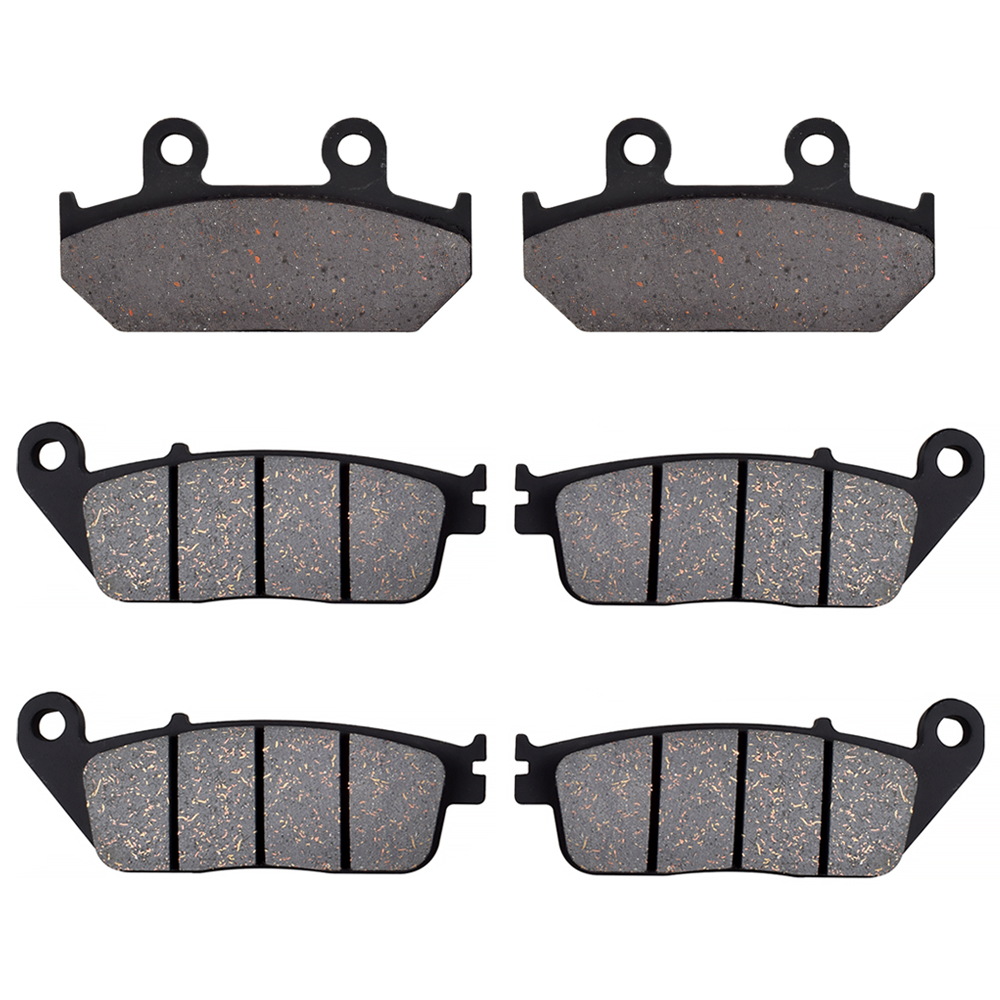 For <font><b>SUZUKI</b></font> <font><b>AN650</b></font> L <font><b>Burgman</b></font> ABS 2013 2014 2015 2016 AN 650 Motorcycle Front Rear Brake Pads Brake Disks image