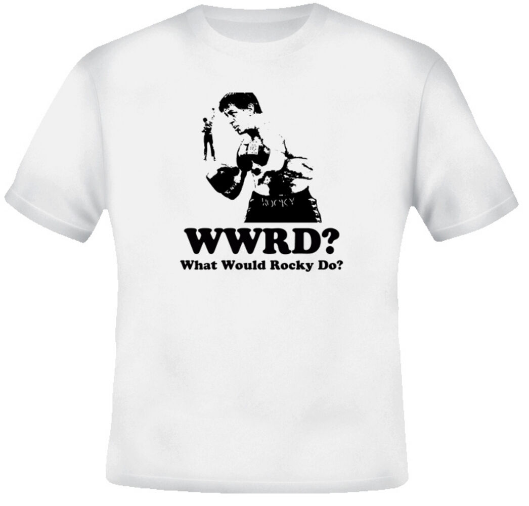 What Would Rocky Balboa Do Boxing Movie T Shirt image