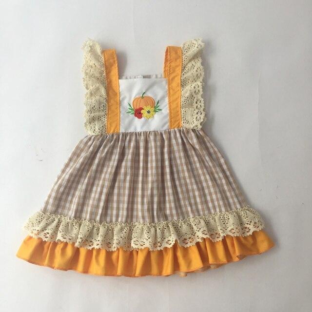 Puresun فتاة اللباس الطفل بنات أكمام عالية الجودة الفتيات بوتيك الملابس هالوين الاطفال ارتداء لطيف اللباس
