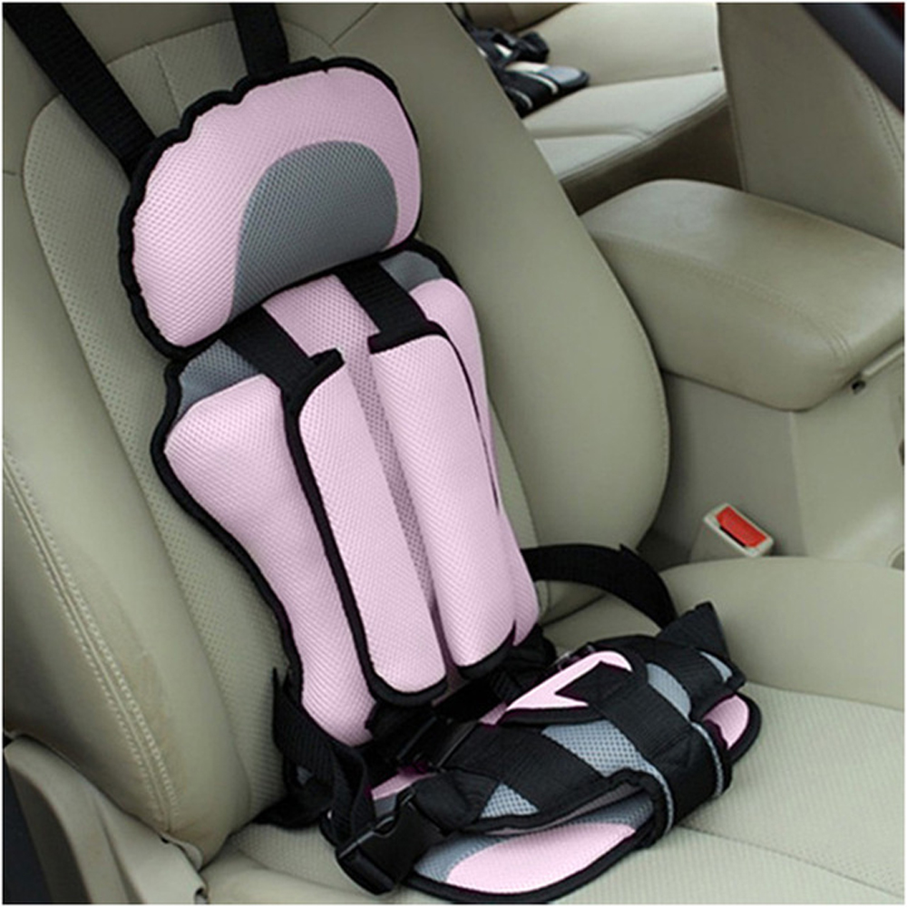 Portable Baby Car Seat Mat Safe Travelling Baby Chair Seat Infant Puff Thickening Sponge Toddle Feeding Chairs 1-5 Years Old