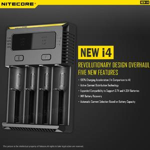 Image 2 - 100% Original Nitecore New I4 Digicharger Battery Charger Nitecore Charger  for 26650 18650 18350 16340 14500 10440