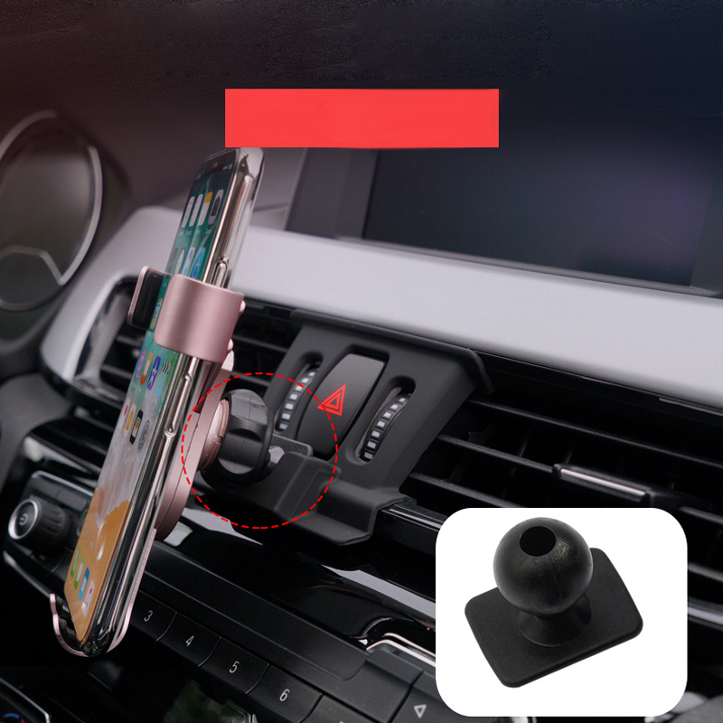 Fit for <font><b>BMW</b></font> <font><b>X1</b></font> F48/X2 F39 <font><b>2017</b></font> 2018 2019 Car Styling Mobile Cell Phone Holder Car Air Vent Mount Stand 1 Set <font><b>Accessories</b></font> image
