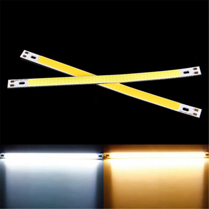 DC5V  COB LED Strip Bar Light 3W 80x7.5mm Warm Cold White Red Blue Green Color Lamp Emitting Diode Chip