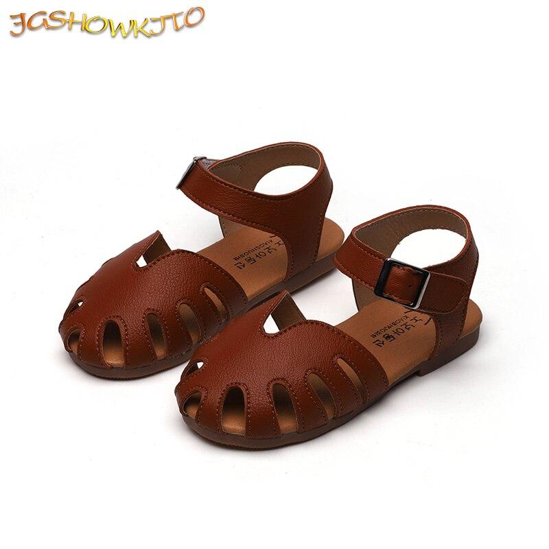 Kids Sandals For Girls Summer Children Beach Sandals Little Baby Girl Beach Shoes Gladiator Roman Sandals Size 21-30 Sweet Soft