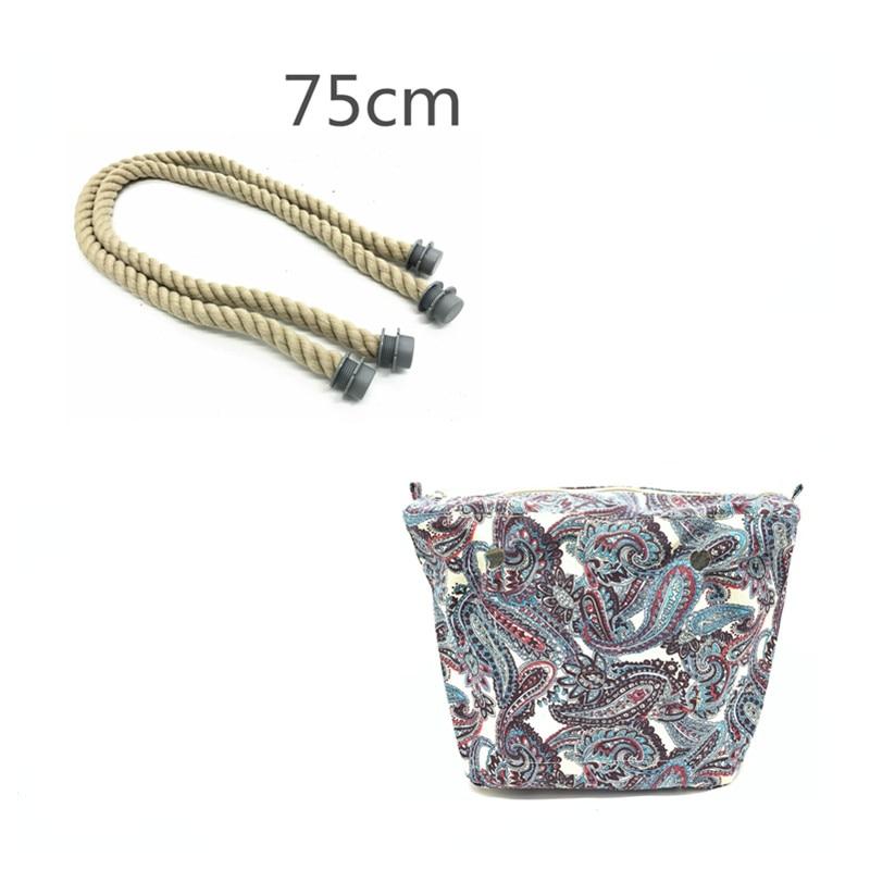 long bag handles for Obag Rope Handle Strap replacement For Women Obag Handles Bag Accessories Removable Linen Bag Strap