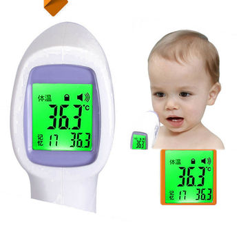 2020 Forehead digital baby thermometer infrared milk water room medical pacifier fever body non contact care