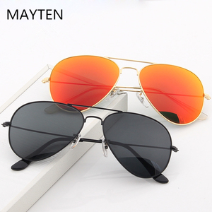 2020 Design Men's Aviation Sunglasses Classic Women Driving Alloy Frame Polit Mirror Sun Glasses Male UV400 Gafas De Sol For Men