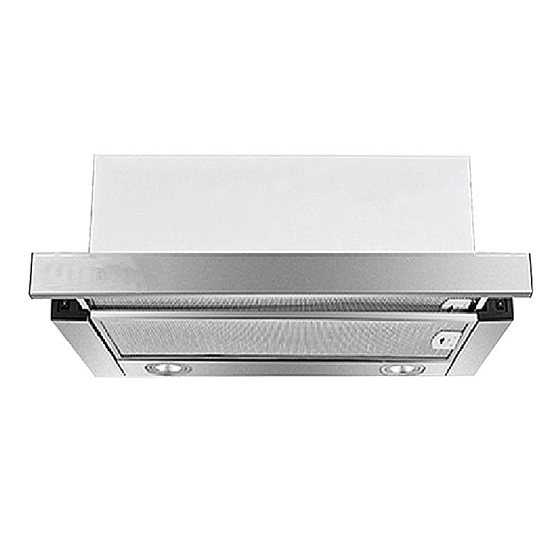 600mm Pulling Type Embedded Range Hood Small Stainless Steel Hotel Kitchen Apartment Household Cooker Hoods