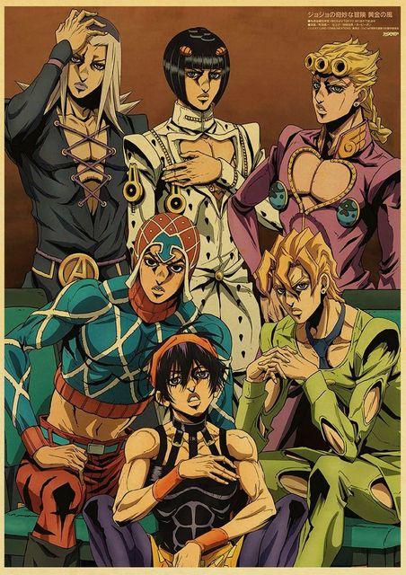 JoJo Printed Retro Posters
