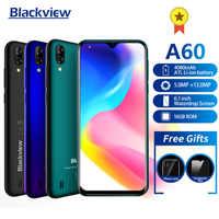 Nuovo Blackview A60 19:9 6.1 pollici Per Smartphone 4080mAh batteria 1GB di RAM 16GB di ROM 13MP Telecamera Posteriore MT6580 quad core Del Telefono Mobile