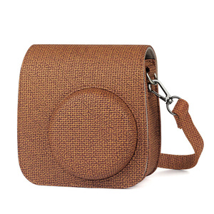 Image 2 - NEW Fujifilm Instax Mini Camera Case Bag PU Leather Cover with Shoulder Strap for Instax Mini 9 8 8+ Instant Film Cameras Case