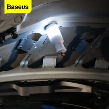Baseus samochodowe światło awaryjne ładowane przenośna latarnia LED dla Auto House Camping lampka nocna ostrzeżenie migające awaryjne samochód