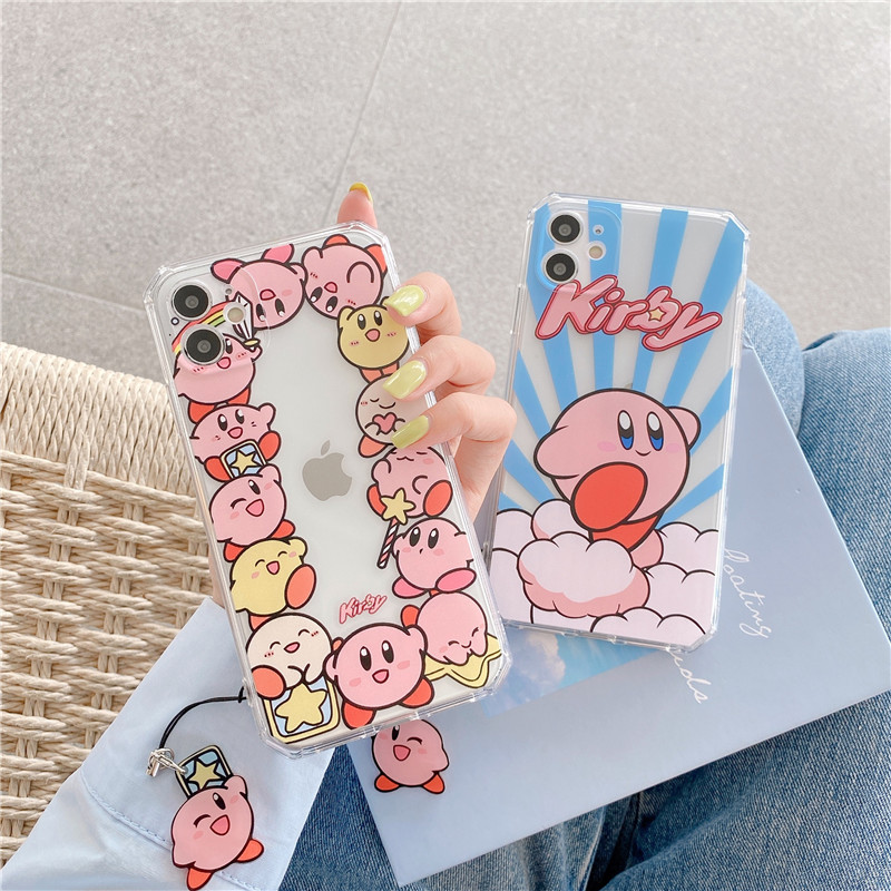 Kawaii  Kirby Star Allies iPhone Case  1