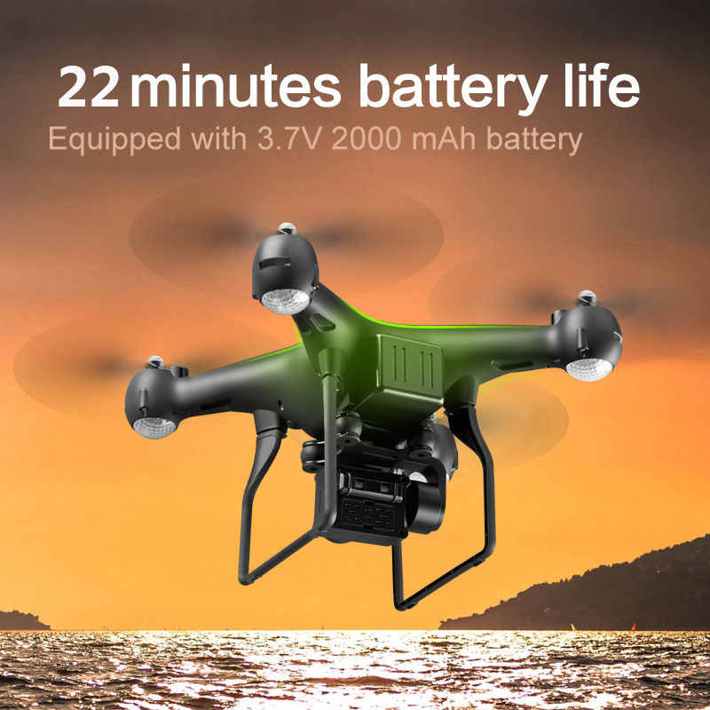 מקצועי Drone עם 4K מסתובב ESC מצלמה HD WiFi FPV אחיזת גובה רחב זווית RC Quadcopter מסוק צעצוע VS XY4 E58
