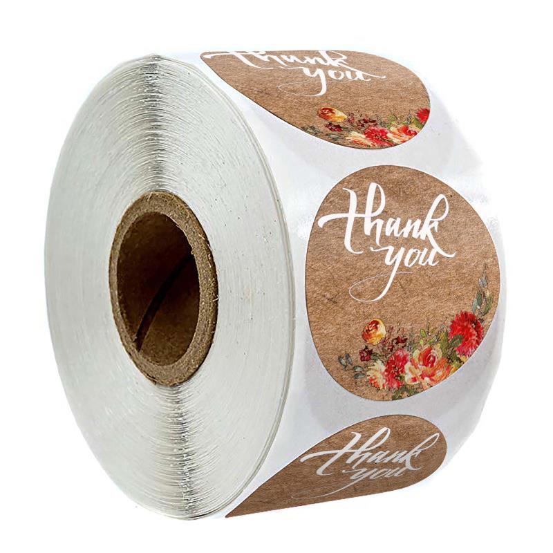 500 1-inch Kraft Paper