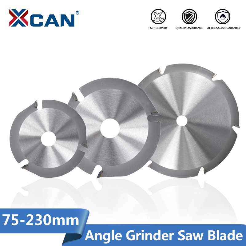 XCAN Angle Grinder Saw Blade 75/100/115/125/150/180/230mm Circular Saw Blade Carbide Tipped Blade Wood Cutting Disc