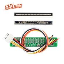 Atualizado v1.0 24 led nível indicador placa dinâmica sensível para vu metro tubo amplificadores alto falante acessórios kits diy dc12v
