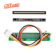 Güncellenmiş V1.0 24 LED seviye göstergesi kartı dinamik duyarlı VU metre tüp amplifikatörler hoparlör aksesuarları kitleri DIY DC12V