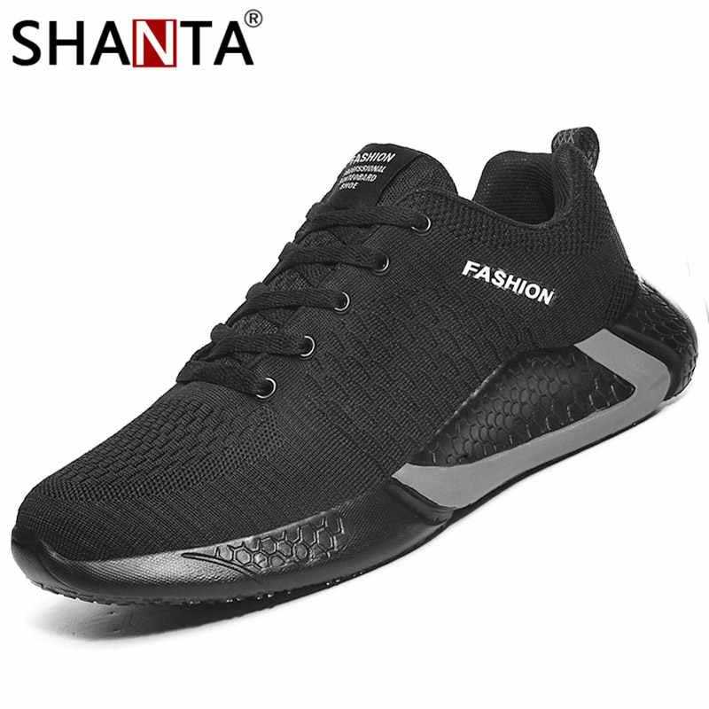 Shanta Mannen Casual Schoenen Ademend Licht Mode Sneakers Lente Outdoor Comfortabele Casual Platte Schoenen Mannen Tenis Masculino