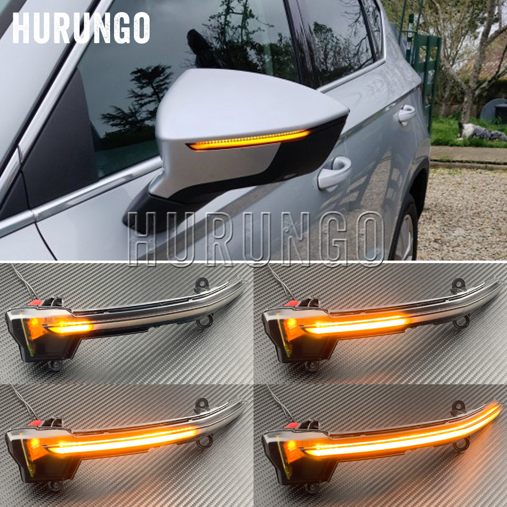 Dynamic LED Turn Signal Blinker For Seat Ateca 5D 2016 2017 2018 2019 FR Car Side Mirror Indicator Light Tarraco