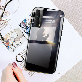 Piękna i bestia dla Huawei Y6 Y7 Y9 Y5P Y6P Y8S Y8P Y9A P inteligentny Z 2019 2020 2021 szkło hartowane etui na telefony tanie i dobre opinie Disney CN (pochodzenie) Tempered Glass Phone Case Tempered Glass Cover Phone Case W stylu rysunkowym 100 brand new high quality A++