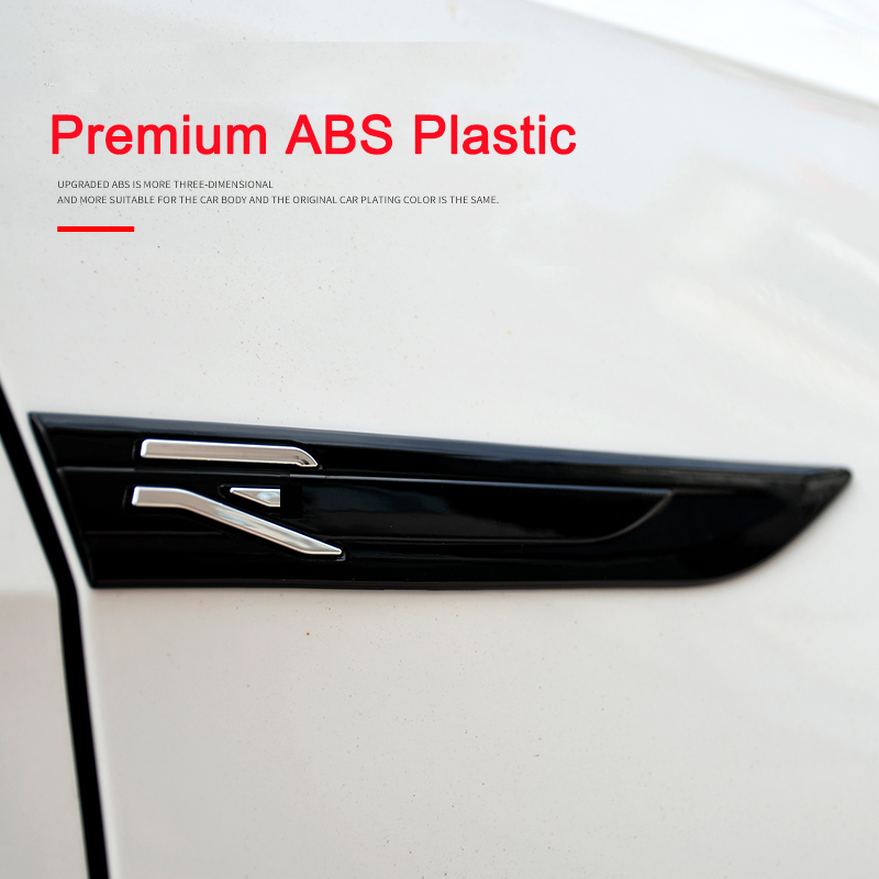 Новый знак R Line Логотип дверь значок на крыло эмблема наклейка для VW Golf 8 MK8 аксессуары 2020