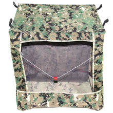 Portable Foldable Camouflage Slingshot Target Box Aim Practice Tool Slingshot Ammo Recycle Shooting Case(China)
