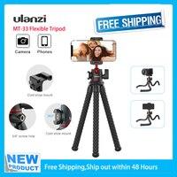 Ulanzi-trípode Flexible de MT-33 para cámara de acción, palo de selfi portátil, ligero, para viaje, Vlog, Youtube