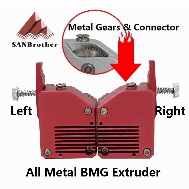 3D Btech Dual Drive BMG Bowden Extrusora extrusora De Metal Da Impressora Extrusora para impressora 3d impressora de Alto desempenho para 3D MK8