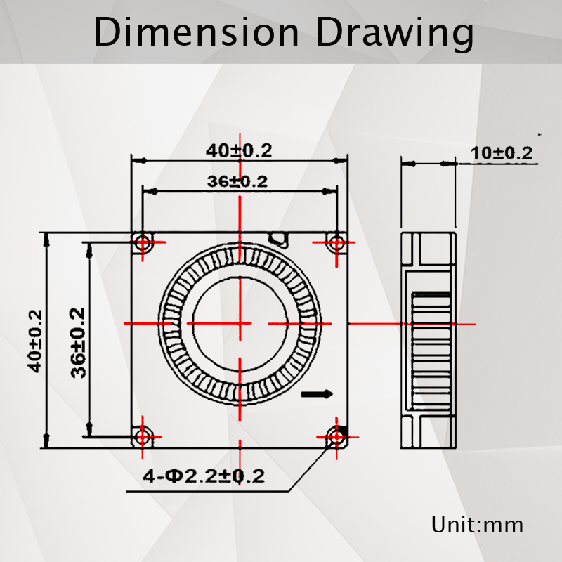 Комплект из 2 предметов, 40 мм 3D-принтеры вентилятор 12В 24В 5В 4010 воздуходувка принтер аксессуары для систем охлаждения DC Турбовентилятор Радиальные Вентиляторы 40x40x10 мм