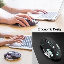 LED Backlit USB Optical Ergonomic Gaming Mouse