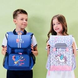 Sunveno nowe torby szkolne dla dzieci duże nastolatki plecak z nadrukiem wodoodporny plecak z pasek odblaskowy dla chłopców i dziewcząt