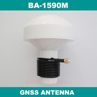 External GPS GLONASS antenna Mushroom shaped case SMA male connector RG174 cable connector GNSS active antenna, BA 1590M