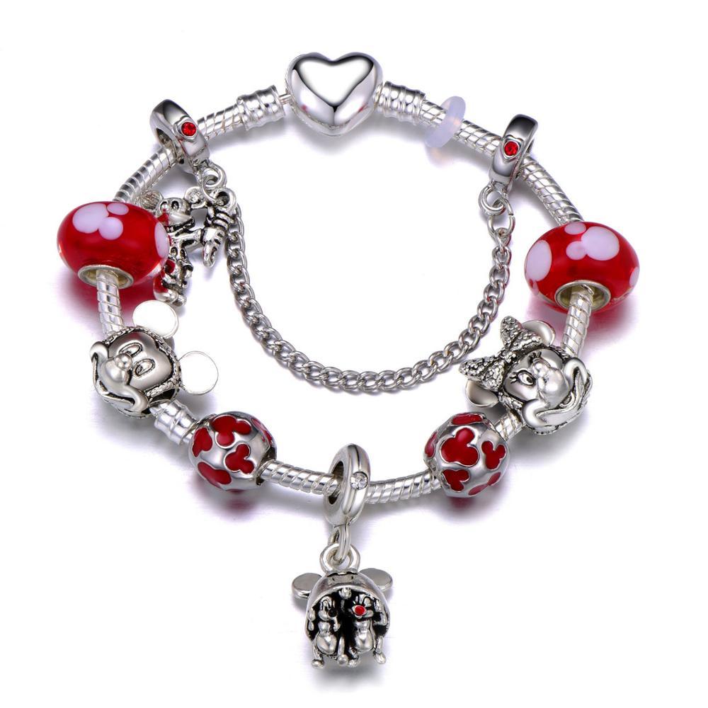 Cute Mickey Mouse Themed Bracelet Bracelets Jewelry New Arrivals Women Jewelry